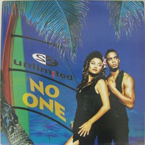 """2 UNLIMITED""""NO ONE"""" - MAXI SINGLE"""