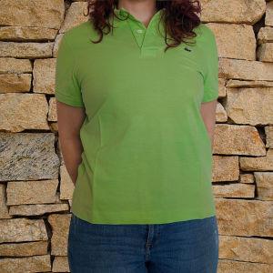 Αντρικό Polo Lacoste λαχανί μπλουζάκι
