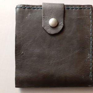 Vintage full original leather ανδρικό πορτοφόλι