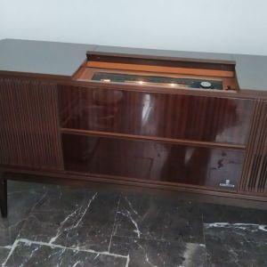 ραδιοπικαπ  Grundig επιπλο της δεκαετιας του 70