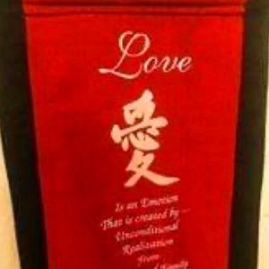Επιτοιχιο Διακοσμητικό Μήνυμα Αγάπης