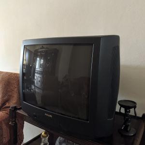 """Τηλεόραση Philips 21"""""""