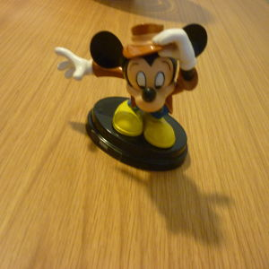 φιγούρα Detective Mickey Mouse Μίκυ Μάους DeAgostini De Agostini series 1