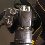 Nikon d3300 φωτογραφική μηχανή με ελάχιστα κλικ λογω μη γνώσης χρήσης της
