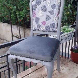 vintage αναπαλαιωμένες καρέκλες