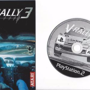 PS2 Game -V-RALLY 3