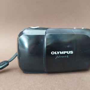 Olympus Μ [mju]-1 μηχανή με φιλμ
