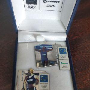 Αναμνηστική καρφίτσα των Ολυμπιακών αγώνων 2004