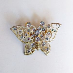 Vintage Καρφίτσα Πεταλούδα