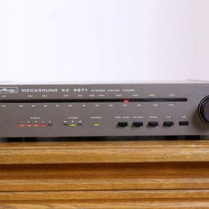TUNER Metz (BRAUN) Mecasound SX-4971,αναλογικο,stereo-mono,rec level ckeck