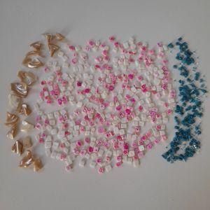 Ημιπολύτιμες χάντρες  για χειροποίητα κοσμήματα.
