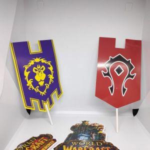 Συλλεκτικα Banners World Of Warcraft για DIY Κατασκευες ή Επιτραπεζια