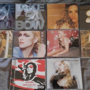 Madonna 10 CD singles