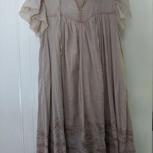 ρομαντικό boho φόρεμα Naf Naf με κέντημα