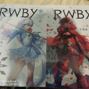 anime posters re zero - rwby - soul eater