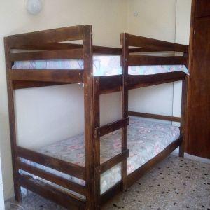 κρεβάτι - κουκέτα IKEA (με στρώματα)