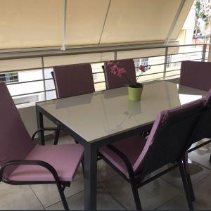 Σετ τραπεζαρίας κήπου με 6 καρέκλες και ΔΩΡΟ τα μαξιλάρια