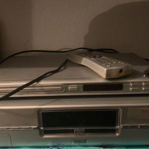 dvd recorder PHILIPS DVDR890, ηχεία , DVD player