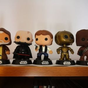 Star Wars funko pops