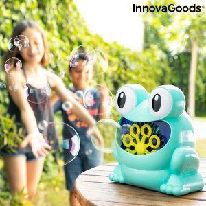 Αυτόματη Μηχανή Φυσαλίδων Σαπουνιών Froggly InnovaGoods