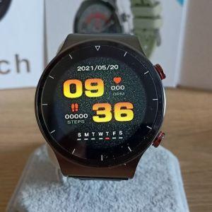 Smartwatch με δυνατότητα κλήσεων μέσω Bluetooth,Ελληνικό μενού, always on(βίντεο στην περιγραφή)