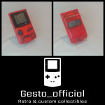 Pokemon Gameboy color Red pack Gesto_official