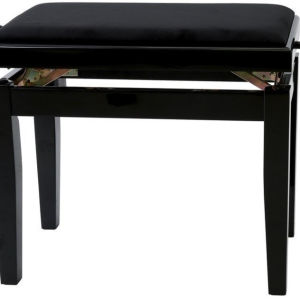 GEWA 130010 Κάθισμα Πιάνου Deluxe Μαύρο