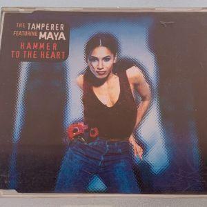 The tamperer ft. Maya - Hammer to the heart 3-trk cd single