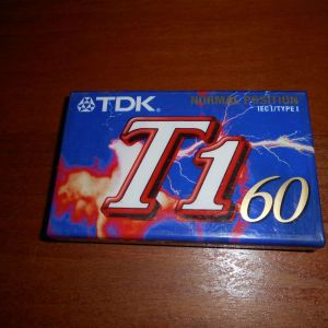 ΚΑΣΕΤΑ ΗΧΟΥ  TDK  T - 1   60