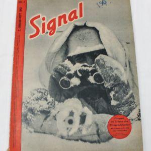 1943 ΓΕΡΜΑΝΙΚΟ ΣΥΛΛΕΚΤΙΚΟ ΠΕΡΙΟΔΙΚΟ ΣΤΡΑΤΟΥ SIGNAL N.2