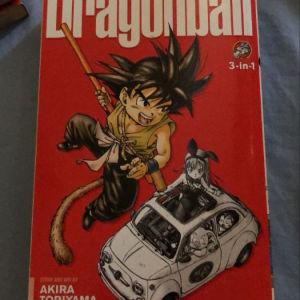 Dragon Ball volumes 123
