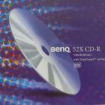 BENQ CD-R 80 SLIM CASE 52X (10 PC)