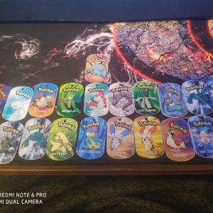 τάπες pokemon metal tags 2006