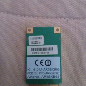 Atheros Mini PCI-e Wireless Card A 802.11g B/G WLAN Card