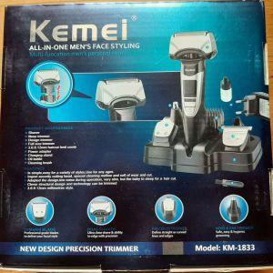 Επαναφορτιζόμενη Κουρευτική Μηχανή KEMEI KM-1833