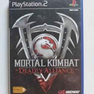 Mortal Kombat Deadly Alliance PS2 (NO MANUAL)