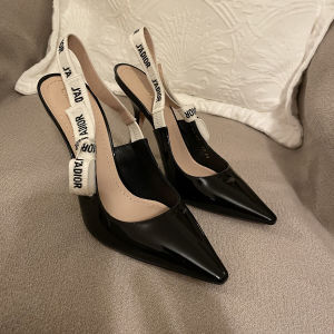 J Adior patent leather sandals NEW