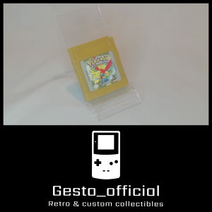 Pokemon Gold Game Boy (Reproduction κασέτα) Gesto_official