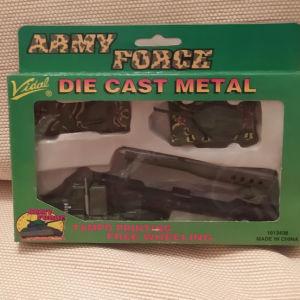 VIDAL DIE CAST METAL ARMY FORCE SET