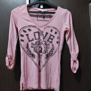 Μακρυμάνικη σομον μπλούζα xs