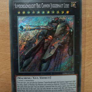 Superdreadnought Rail Cannon Juggernaout Liebe (Secret Rare)
