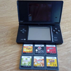 Nintendo Ds & 6 κασέτες