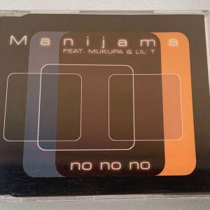 Manijama ft. Mukupa & Lil' T - no no no 6-trk cd single