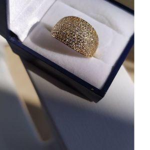 καινούριο χρυσό δαχτυλίδι 14Κ