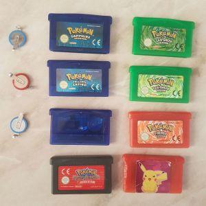 Gameboy Pokemon  games!