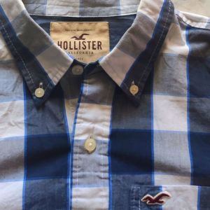 HOLLISTER CALIFORNIA MEDIUM ανδρικό πουκάμισο