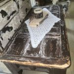 Τραπεζάκι σαλονιου χειροποιητο μασίφ ξυλο
