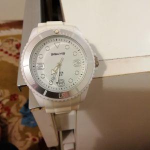 ρολόι χειρός 3GUYS WHITE