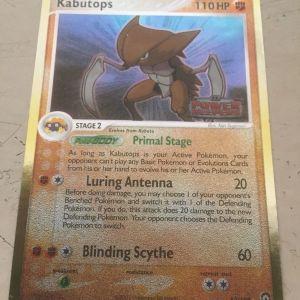 Pokémon card Kabutops