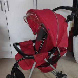 Καροτσάκι Mothercare CityLite Buggy-Stroller κόκκινο